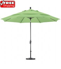 Golden State 11' Round Collar Tilt Umbrella