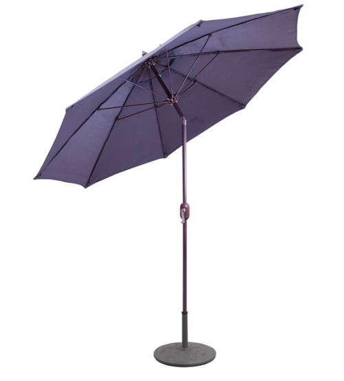 Galtech 736 - 9 FT Standard Auto Tilt Patio Umbrella - CLEARANCE