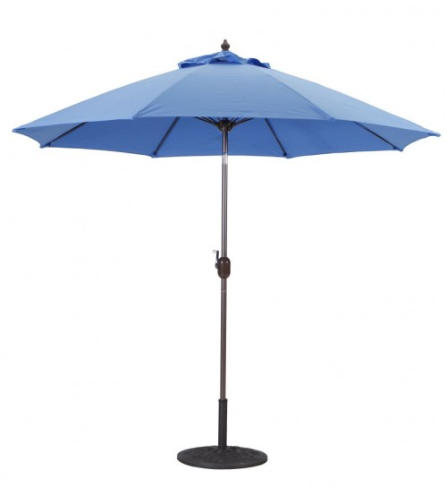 Galtech 9 Manual Tilt Patio Umbrella Clearance