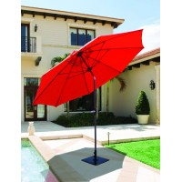 Galtech 9' Manual Tilt Patio Umbrella