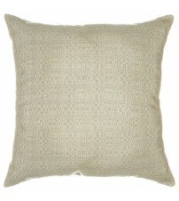 "Sunbrella 18""x18"" Square Throw Pillow - Linen Silver"