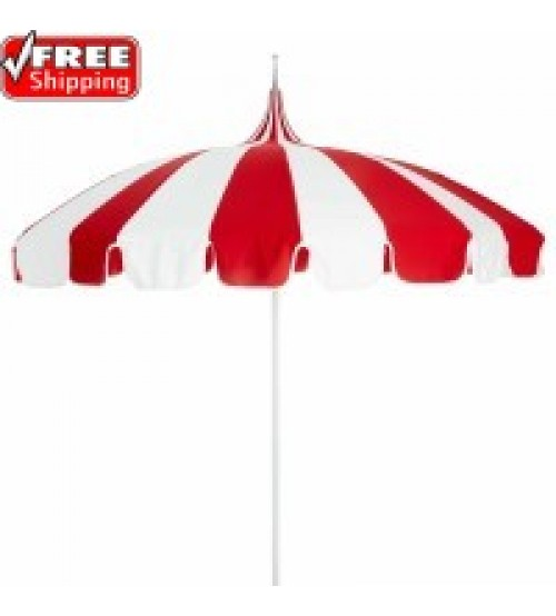 8.5' Pagoda Umbrella California Umbrella - Sunbrella