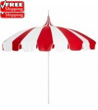 8.5' Pagoda Patio Umbrella - Sunbrella