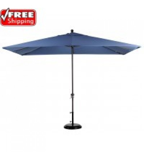 Sale 11x8u0027 Rectangular Market Umbrella - FRAME ONLY  sc 1 st  Patio Umbrella Store & Treasure Garden 8x10u0027 Rectangular Replacement Umbrella Canopy