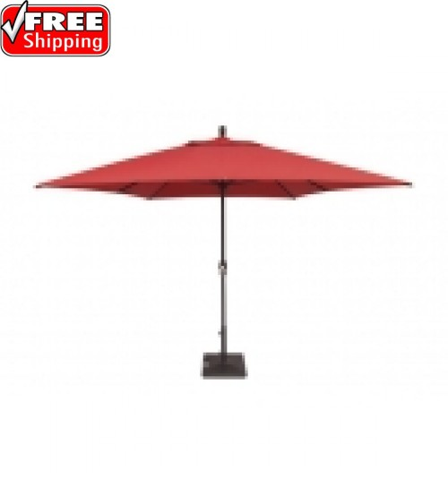 Treasure Garden 8x11' Rectangular Crank Lift Market Umbrella - FRAME ONLY