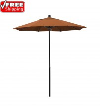 7.5' Round  All Fiberglass  Umbrella