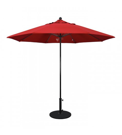 9' Round  All Fiberglass  Umbrella