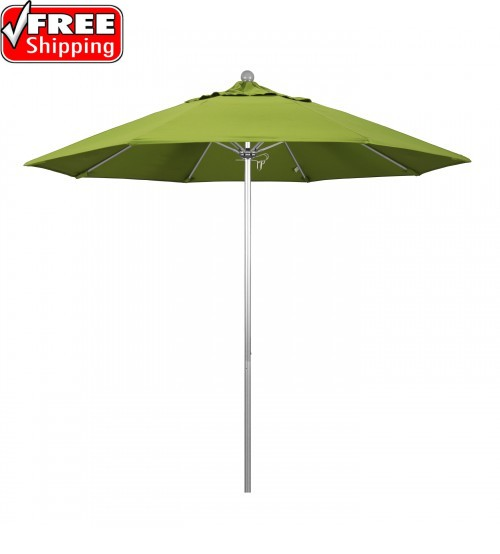 Venture Series 9' Round Fiberglass Commercial Grade Umbrella - FRAME ONLY