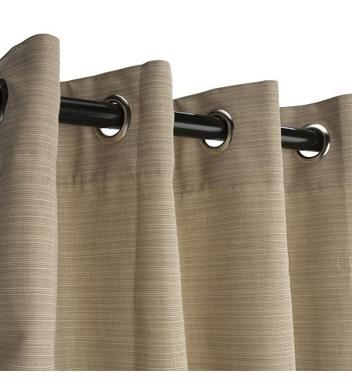 Sunbrella Curtains With Grommets 28 Images Linen Sesame Grommet Sunbrella Outdoor Curtains