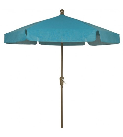 Fiberbuilt 7.5' Garden Umbrella - Push Up