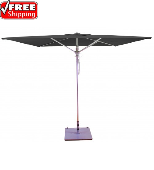 Galtech 782 - 8x8 FT Square Commercial Umbrella - Frame only