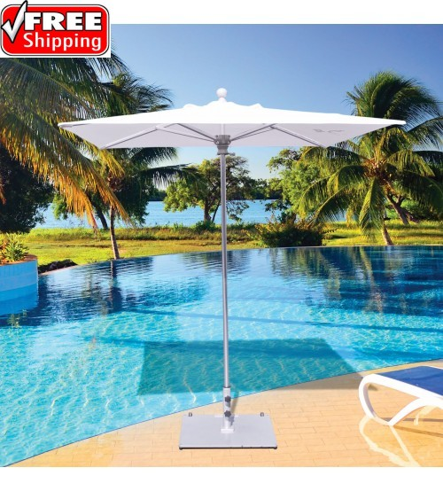 Galtech 762 -  6x6 FT Square Commercial Patio Umbrella