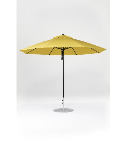 Monterey 11' Fiberglass Umbrella, Rope Pulley, No Crank