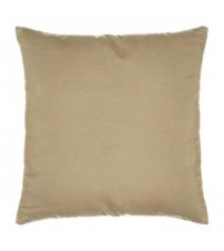 "Sunbrella 18""x18"" Square Throw Pillow - Spectrum Sand"