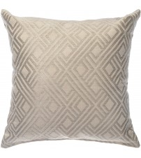 "Sunbrella 18""x18"" Square Throw Pillow - Integrated Pewter"