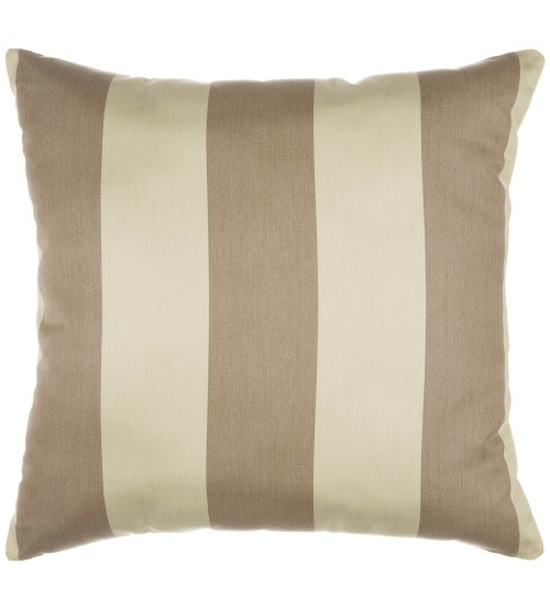 "Sunbrella 18""x18"" Square Throw Pillow - Regency Sand"
