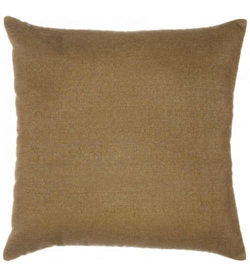"Sunbrella 18""x18"" Square Throw Pillow - Linen Sesame"