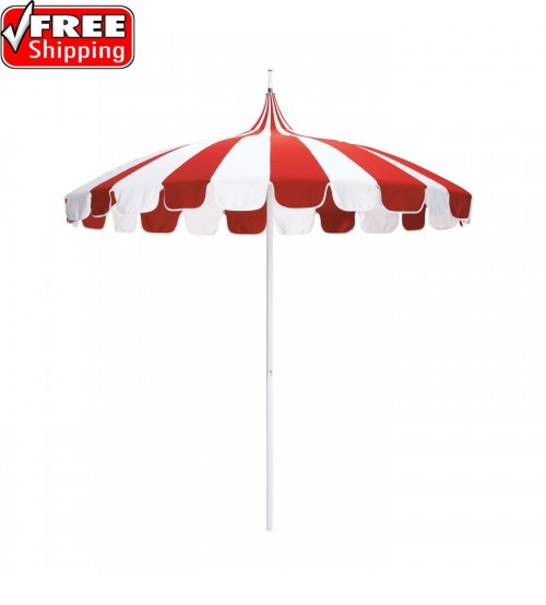 Oriental Style Paa Umbrella In Sunbrella Patio