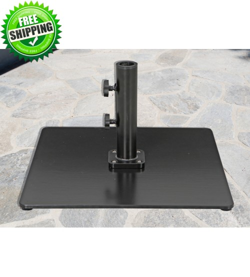 Galtech 60 LBS Square Commercial Umbrella Base