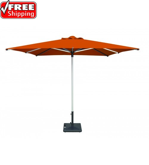 "Shademaker 8'2"" Square Libra Centerpost Umbrella"