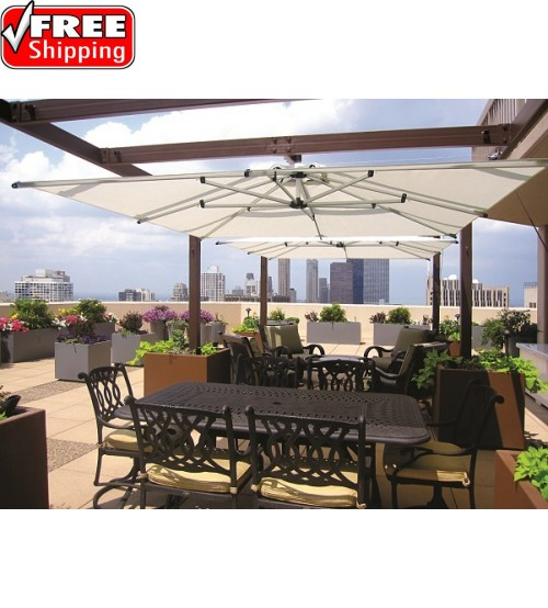 "Shademaker8'9"" Square Nova BEAM MOUNT Umbrella"