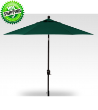 Treasure Garden 9 foot Push Button Tilt Octagon Umbrella - FRAME ONLY