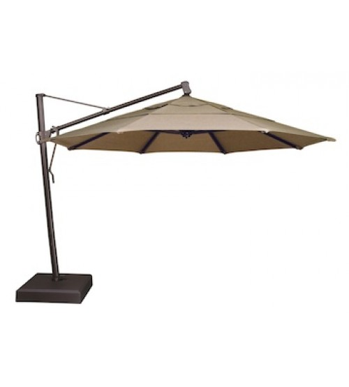 ... Treasure Garden 11u0027 AKZ Cantilever Umbrella - Sunbrella ...  sc 1 st  Patio Umbrella Store & Treasure Garden 11 Foot Octagon Cantilever Sunbrella | Patio Umbrella