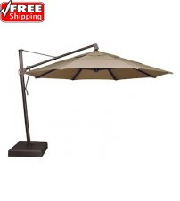 Treasure Garden 13' Octagon AKZ Cantilever Umbrella - Quick Ship