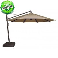 Treasure Garden  11' Octagon Cantilever Umbrella - AKZ - Quick Ship