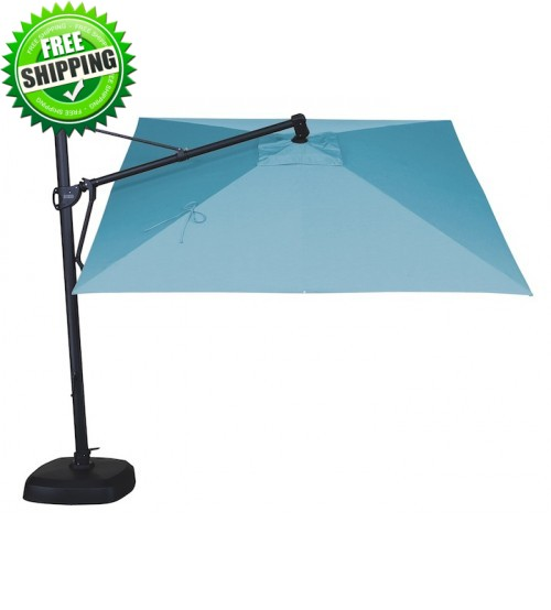 Treasure Garden 10' Square Cantilever Umbrella - AKZ - Quick Ship