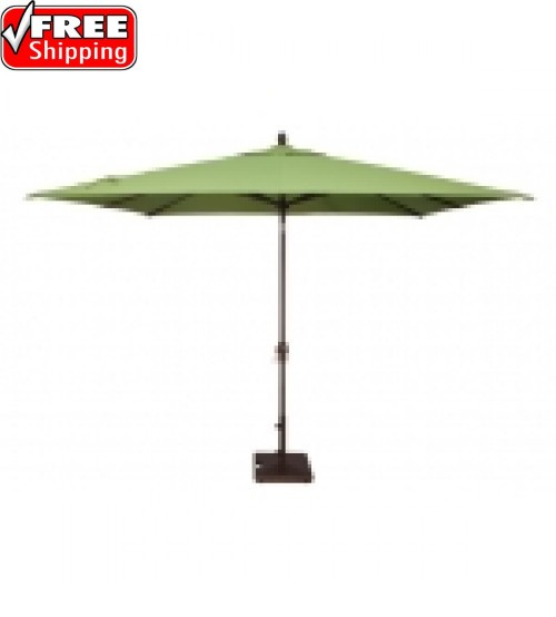 8x10' Rectangular Auto Tilt Market Umbrella