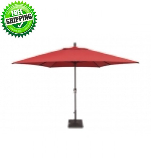 treasure garden rectangular market umbrella