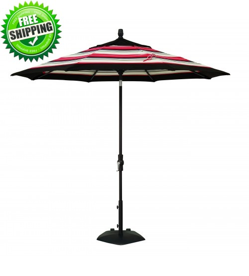 Treasure Garden 9' Collar Tilt Octagon Commercial Umbrella - Frame Only