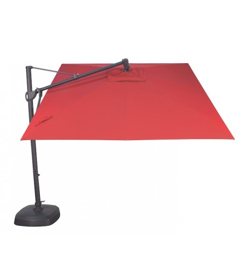 Treasure Garden 10' AKZ Cantilever Umbrella - O'Bravia Polyester Fabric