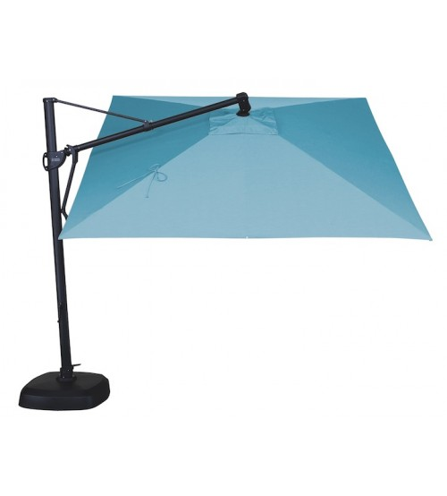 Treasure Garden AKZ 10' Square Cantilever Umbrella  Replacement Canopy - Quick Ship