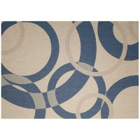 Outdoor Rug by Treasure Garden - Champagne Neptune