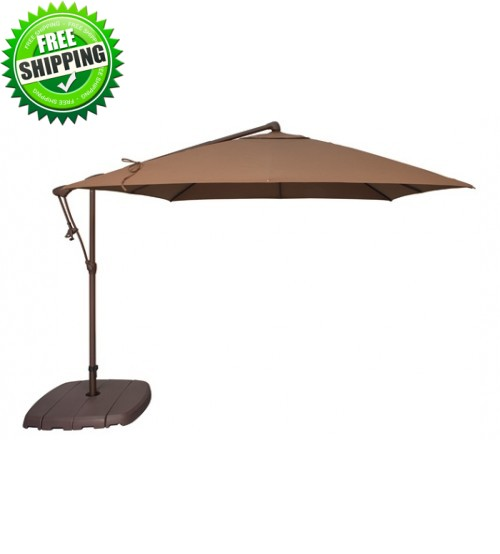 Treasure Garden 8.5' Square AG19SQ Cantilever Umbrella