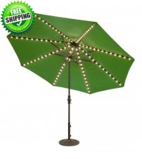 Treasure Garden 11' Starlight Collar Tilt Octagon Umbrella - FRAME Only