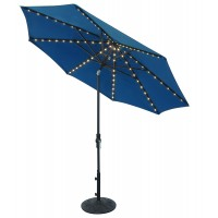 Treasure Garden 9' Starlight Collar Tilt Octagon Umbrella  -  Quick Ship