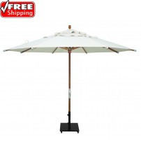 Treasure Garden 11' Teak Wood Umbrella