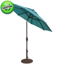 Treasure Garden 7.5' Glide Tilt Octagon Umbrella