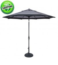 Treasure Garden 9 foot Glide Tilt Octagon Umbrella