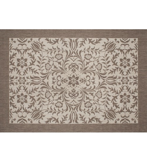 Outdoor Rug by Treasure Garden - Florence Mocha