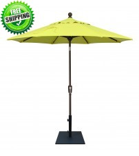 7.5' Push Button Tilt Umbrella Frame