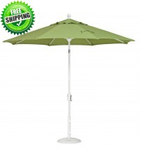 Treasure Garden 9 foot Push Button Tilt Octagon Umbrella DWV