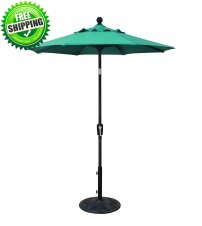 Treasure Garden 6 foot Push Button Tilt Octagon Umbrella
