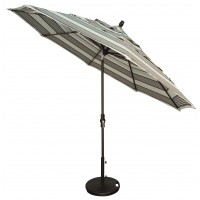 Treasure Garden 11' Collar Tilt Octagon Commercial Use Umbrella