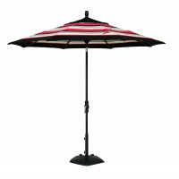 Treasure Garden 9' Collar Tilt Octagon Commercial Umbrella
