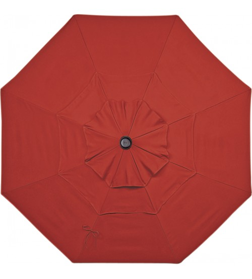 Treasure Garden 11u0027 Replacement Umbrella Canopy With Double Wind Vent ...