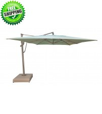 Treasure Garden 10' x 13' AKZPRT PLUS Cantilever Umbrella -